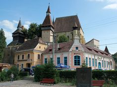Sighişoara andFortified Churches of Transylvania.One of my favourite…