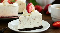 Mascarpone and Oreo® cheesecake (simple, fast) – A CuisineAZ Dynamic Recipe Source by margotmzll Oreo Cheesecake Bites, Cheesecake Crust, Cheesecake Mascarpone, Cookies Oreo, Oreo Torta, Oreo Biscuits, Easy Summer Desserts, Chocolate Wafers, Dessert Recipes