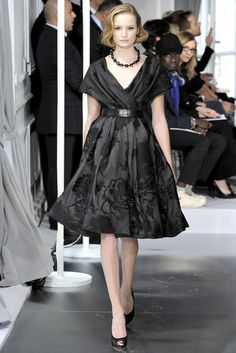 Christian Dior Spring 2012 Couture Fashion Show - Maud Welzen