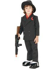 Toddler and Child Little Gangster Costume
