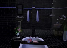 Sims 4 CC's - The Best: Bathroom by GreenGirl100