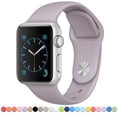 FanTEK Apple Watch Band Soft Silicone Sport Style Replace... https://www.amazon.com/dp/B017IBOXS8/ref=cm_sw_r_pi_dp_x_idAoybRNXV5ZG