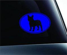Car French Bulldog Oval Symbol Decal Funny Car Truck Sticker Window (Blue) ExpressDecor http://www.amazon.com/dp/B00S8G1PSY/ref=cm_sw_r_pi_dp_oe-Tub1TW1WEH