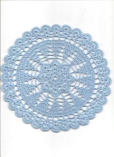 Vintage Style Crochet Lace Doily Doilies Centre Piece Wedding Table Decoration