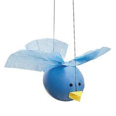 Egg Bluebird - we'd use plastic eggs.