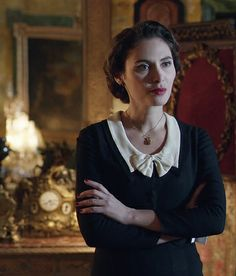 2013. Elephants Can Remember.  Elsa Mollien as Zélie Rouselle.  (Agatha Christie's Poirot TV Series with David Suchet.)
