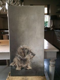 Trendy Dog Art Diy Pictures - Arts and craft - Hunde Animal Paintings, Animal Drawings, Art Drawings, L'art Du Portrait, Dog Portraits, Dog Art, Art Techniques, Painting Inspiration, Amazing Art