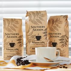 Chapel Hill Coffee Sampler, Three 1lb Bags, Whole Bean - Coffee - Coffee & Tea Blending coffee is an art. Our staff has tasted countless combinations of coffees to find unique combinations that best suit each of our locations. Contains 1 lb. each of Southern Season Blend, Europa Blend and Tar Heel Blend.