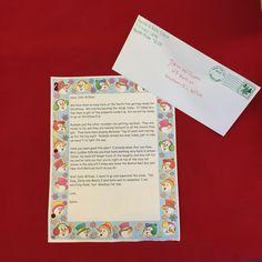 Letter From Santa Template on Pinterest | Letter From Santa, Santa ...