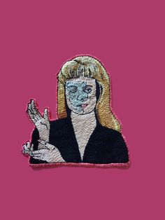 """Handmade embroidery inspired by David Lynch's tv show """"TWIN PEAKS"""" Laura Palmer, Chucky, David Lynch Twin Peaks, Diane, Cotton Thread, Hand Embroidery, Etsy, Inspired, Pictures"""