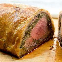 Florentine Beef Wellington #recipes