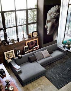 modern furniture & lighting   spencer interiors   modern Italian sectionals