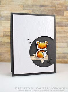card with critters foxy Fox #fox Füchse ræv | Flickr - Photo Sharing!