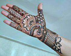 Black Mehndi Designs, Latest Bridal Mehndi Designs, Mehndi Designs Book, Unique Mehndi Designs, New Bridal Mehndi Designs, Mehndi Design Images, Beautiful Mehndi Design, Mehndi Designs For Hands, Rangoli Designs Simple Diwali