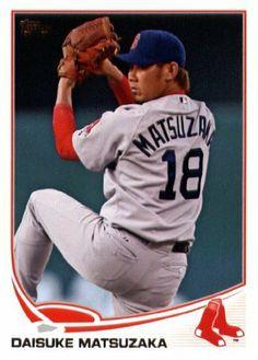 2013 Topps Baseball Card #118 Daisuke Matsuzaka - Boston Red Sox - MLB Trading Cards by Topps. $1.87. 2013 Topps Baseball Card #118 Daisuke Matsuzaka - Boston Red Sox - MLB Trading Cards