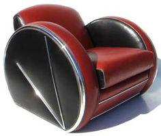 Art Deco -Uso de formas geométricas abstratas - Uso de cores fortes sem estampa
