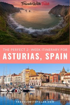 Check out our perfect Asturias Spain itinerary to plan the ultimate trip to this area of northern Spain. In this Asturias travel guide, you'll find information about Oviedo, Gijon, the… Spain Travel Guide, Europe Travel Tips, Travel Advice, Travel Guides, Travel Destinations, Time Travel, Travel Deals, Holiday Destinations, European Destination