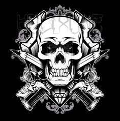Skull and Passion by kolixone