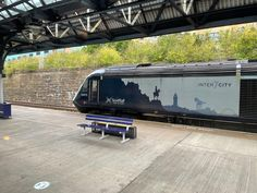 Scotrail train waiting at Dundee By Train, Dundee, Transportation, Waiting, Scenery, Journey, Europe, Tours, Adventure