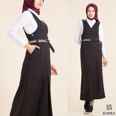 Yeni bir tarz denemeye ne dersin? Gardrobunda #jile ye yer aç! | What about trying a new #style ?  Keşfet | Discover >http://www.kayra.com.tr/p/9774/kayra-kemerli-kolsuz-elbise-siyah-a6-23013