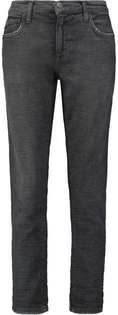 Current/Elliott The Fling low-rise boyfriend jeans Low Rise Boyfriend Jeans, Black Jeans, Denim, Stylish, Pants, Tops, Women, Fashion, Moda