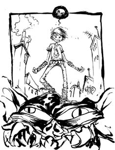 #DailySketch Battling Boy. Maybe one of my favorite comics in years and years.