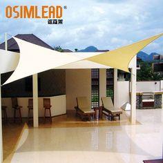 Free Shipping 4m X 6m Rectangle Rectangle Shade tarps cloth NEW Rectangular UV Waterproof Rectangle Sun Shade Sail