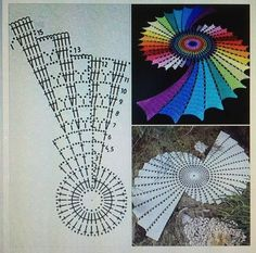 Image result for fractal doily free pattern