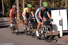 Tour de Suisse (2012) Photos; Stage 8: Bischofszell → Arosa, 148 km - Alejandro Valverde (Movistar) sacrificed his own GC chances to pace race leader and teammate Rui Costa who had his worst day of the race