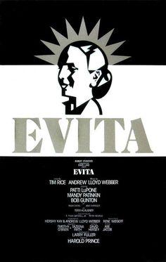 Evita broadway musical lyrics