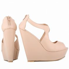 Plataforma Peep Toe - Pratty Shop
