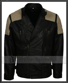 9bcc5ad26f390 Vintage Retro Biker Mens Brando Padded Fashion Motorcycle Black Leather  Jacket