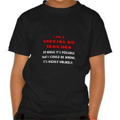Funny Special Ed Teacher  Highly Unlikely T Shirt, Hoodie Sweatshirt