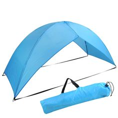 e0c65e5d982 1-2 Person Foldable Outdoor Hiking Camp Beach Shelter Tent