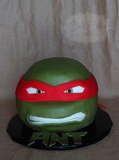 Teenage Mutant Ninja Turtle Cake Izzie Ninja Cake, Tmnt Cake, Iced Sugar Cookies, Ninja Turtle Party, Superhero Cake, Mermaid Cakes, Boy Birthday, Birthday Cake, Teenage Mutant Ninja Turtles