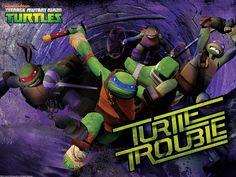 tmnt 2012 nickelodeon | Nickelodeon TEENAGE MUTANT NINJA TURTLES :: Wallpaper_TMNT-Trouble ...