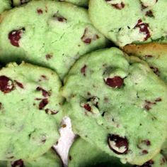 Easy Dessert Recipes: Mint Chocolate Chip Cookies Recipe