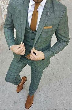 Long Island Custom Suits Long Island Custom Shirts Long Island Wedding Suits is part of Custom suit - Mens Fashion Suits, Mens Suits, Dress Suits For Men, Men Dress, Blazer Outfits Men, Casual Outfits, Mode Costume, Designer Suits For Men, Plaid Suit