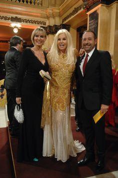 Susana, Francella y su esposa. telefe.com