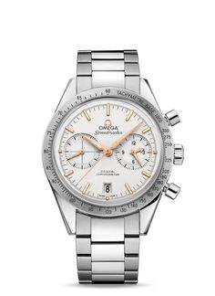 Omega Speedmaster 57 Omega Co-Axial Chronograph Omega Speedmaster, Cool Watches, Rolex Watches, Omega Co Axial, Omega Aqua Terra, Swiss Luxury Watches, Omega Constellation, Vintage Omega, Bracelet Sizes