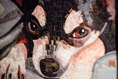 Stained Glass Mosaic Pet Portrait with Donna Van Hooser