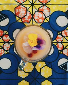 Le Sorbet : notre cocktail estival à base de poire - Eté 2017 @lepavillondescanaux