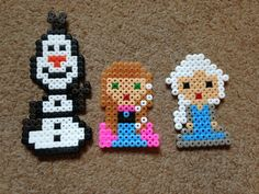 Frozen perler beads by Little Red Emo Hood