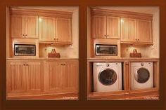 Image result for washer and dryer in kitchen