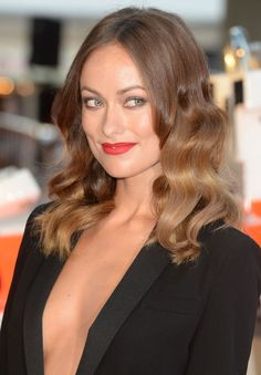 Olivia Wilde's hair color.