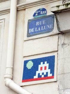 Space Invader @ Rue de la Lune | Paris