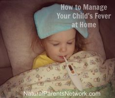 How to Manage Your Child's Fever at Home