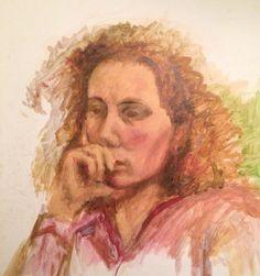 Maria Florijn. Olieverf. 2003