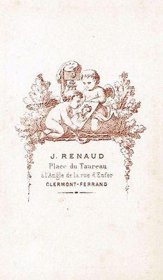 Clermont Ferrand, Limousin, Printables, France, Auvergne, Photographers, Carte De Visite, Print Templates, French