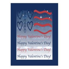 US Patriotic Blue Night Happy Valentine's Day Postcard veterans day comprehension, veterans day music, military day Gifts For Veterans, Veterans Day, Yule Decorations, Good Wife, Scandinavian Christmas, Happy Day, Happy Valentines Day, Night, Comprehension